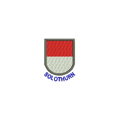 Aufnäher Wappen Solothurn mini mit Name
