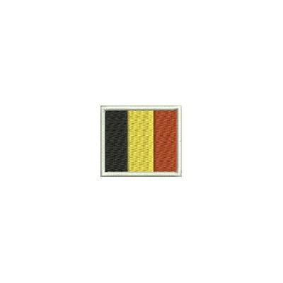 Aufnäher Flagge Belgien mini