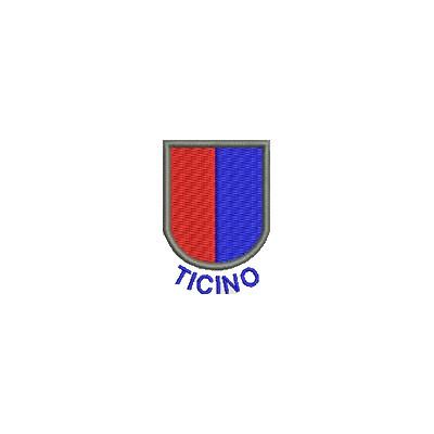 Aufnäher Wappen Tessin mini mit Name