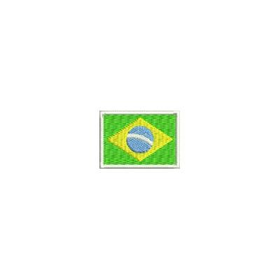 Aufnäher Flagge Brasilien mini