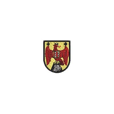 Aufnäher Wappen Burgenland mini