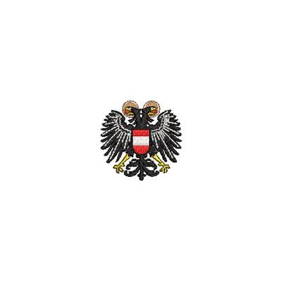 Aufnäher Wappen Österreich mini