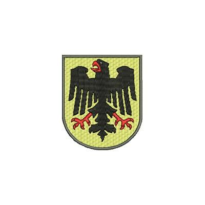 Aufnäher Wappen Adler DE midi