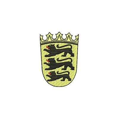 Aufnäher Wappen Baden Würtenberg midi
