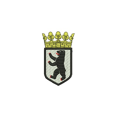Aufnäher Wappen Berlin midi