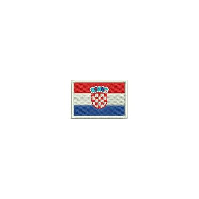 Aufnäher Flagge Kroatien mini