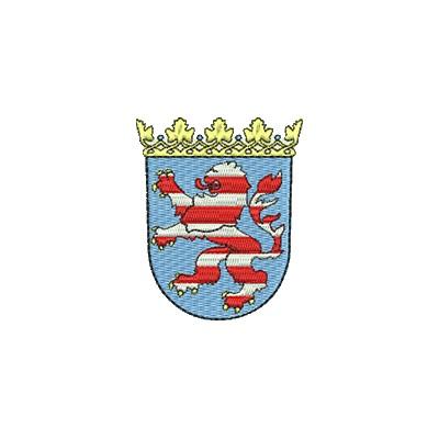 Aufnäher Wappen Hessen midi
