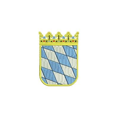 Aufnäher Wappen Kleine Bayern midi