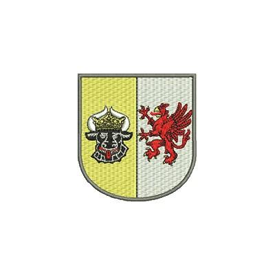 Aufnäher Wappen Mecklenburg Vorpommern midi