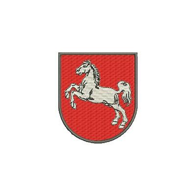 Aufnäher Wappen Niedersachsen midi