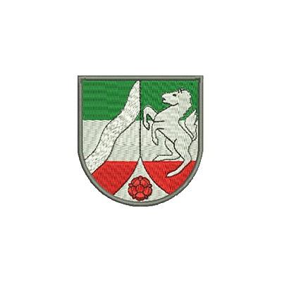 Aufnäher Wappen Nordrhein Westfahlen midi
