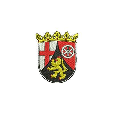 Aufnäher Wappen Rheinland Pfalz midi