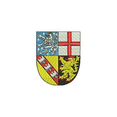 Aufnäher Wappen Saarland midi