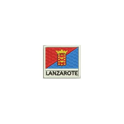 Aufnäher Flagge Lanzarote mini