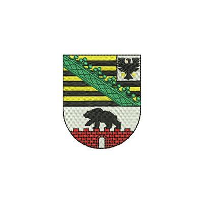 Aufnäher Wappen Sachsen Anhalt midi