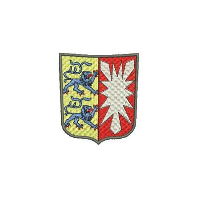 Aufnäher Wappen Schleswig Holstein midi