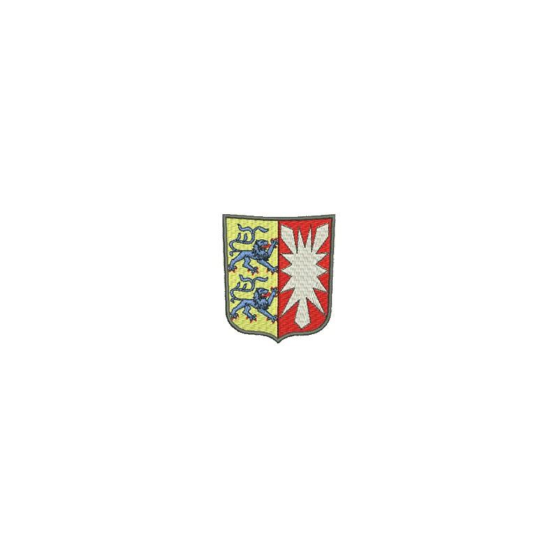 Aufnaher Wappen Schleswig Holstein Midi Meine Aufnaher