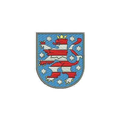 Aufnäher Wappe Thüringen midi