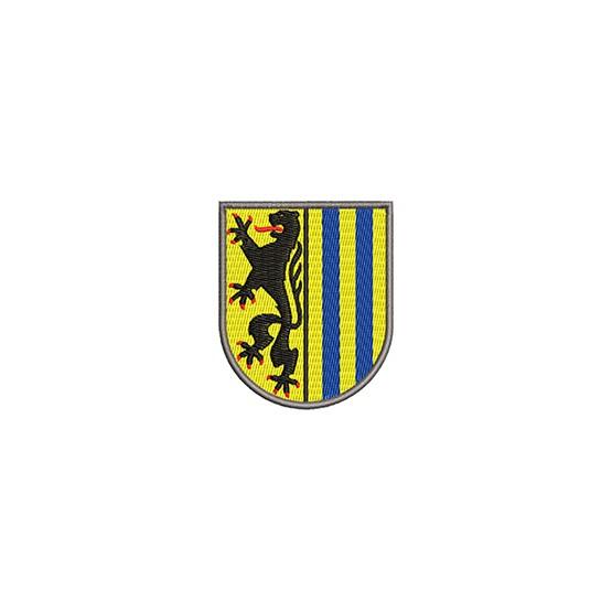 Aufnäher Wappen Leipsig midi