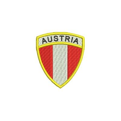 Aufnäher Wappen Austria midi