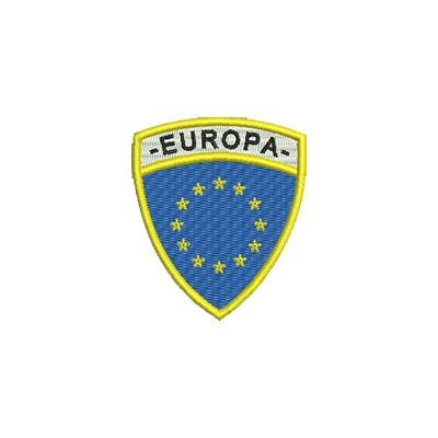 Aufnäher Wappen EU Format Schild midi