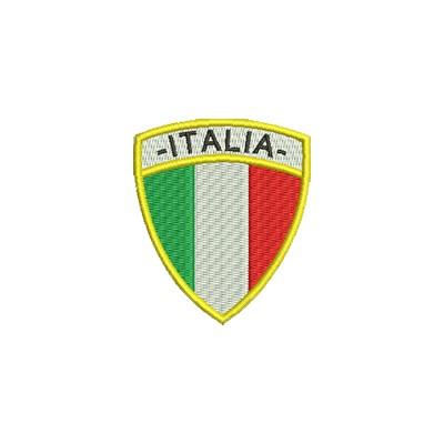 Aufnäher Wappen Italien Format Schild midi