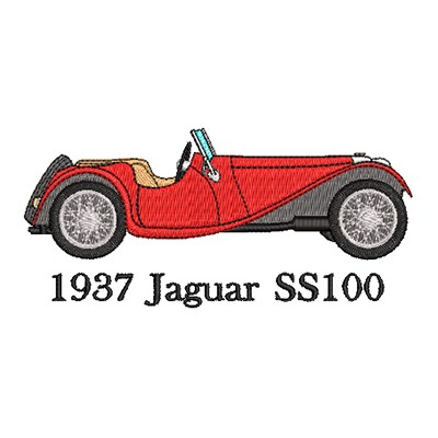 Aufnäher Jaguar SS-100