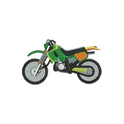 Aufnäher Trial Motorrad midi