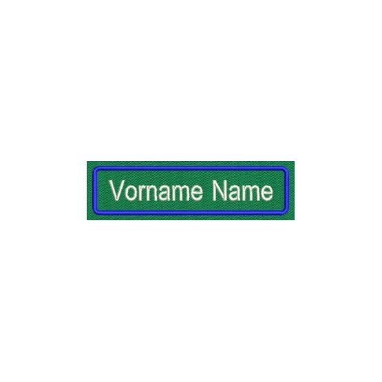 Aufnäher Namens Etikette 4