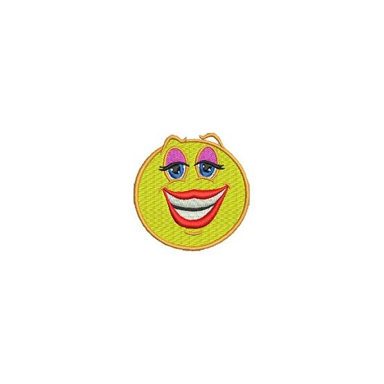 Aufnäher Smiley 2 midi