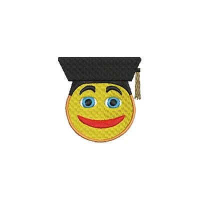 Aufnäher Smiley 4 midi