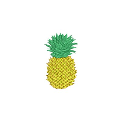 Aufnäher Ananas midi