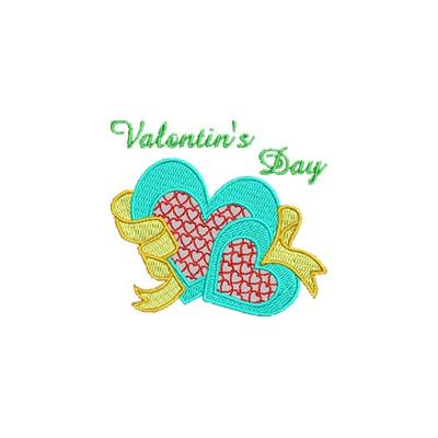 Aufnäher Valentinsday midi