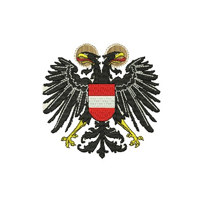 Aufnäher Wappen Österreich midi
