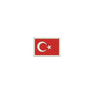 Aufnäher Flagge Turkei mini