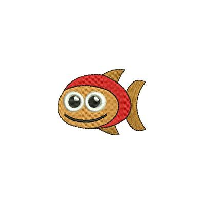 Aufnäher Goldfischlein midi