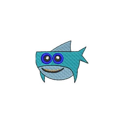 Aufnäher haifisch midi