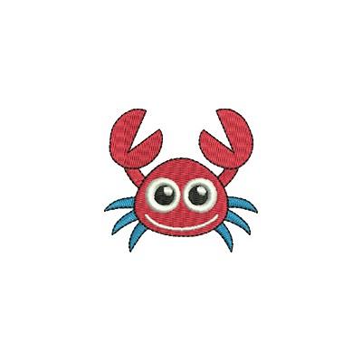 Aufnäher Krabbe midi