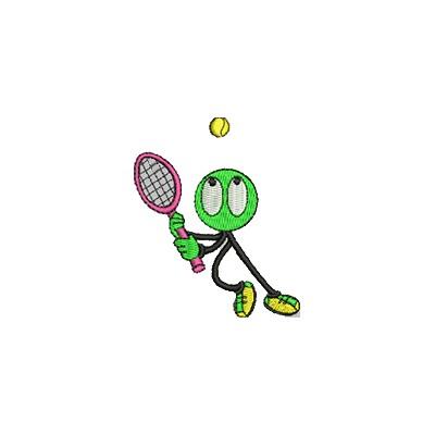 Aufnäher Tennis Boy midi