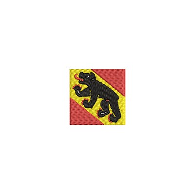 Aufnäher Flagge Bern mini
