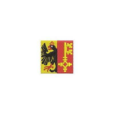 Aufnäher Flagge Genf mini