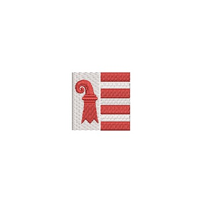 Aufnäher Flagge Jura mini