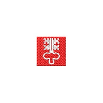 Aufnäher Flagge Nidwalden mini