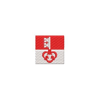Aufnäher Flagge Obwalden mini