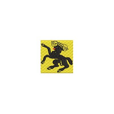 Aufnäher Flagge Schaffhausen mini