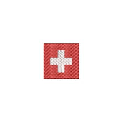 Aufnäher Flagge Schweiz mini