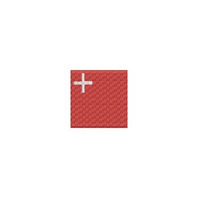 Aufnäher Flagge Schwyz mini