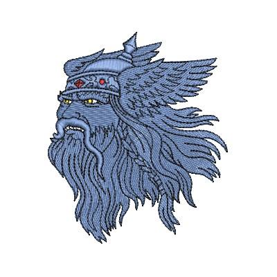 Aufnäher Vikinger 1
