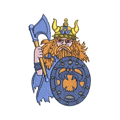 Aufnäher Vikinger 2