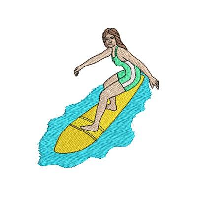 Aufnäher Surfing